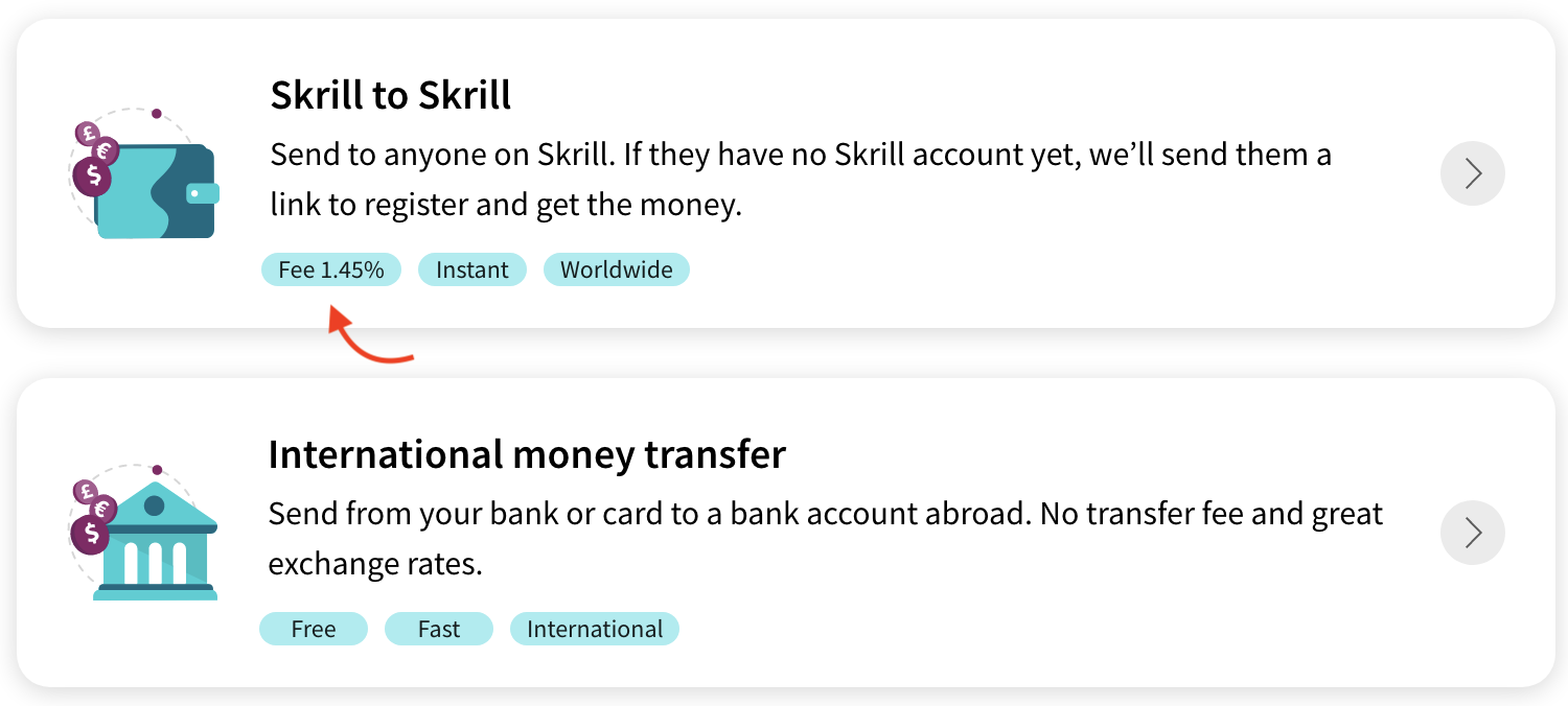 skrill to skrill transfer